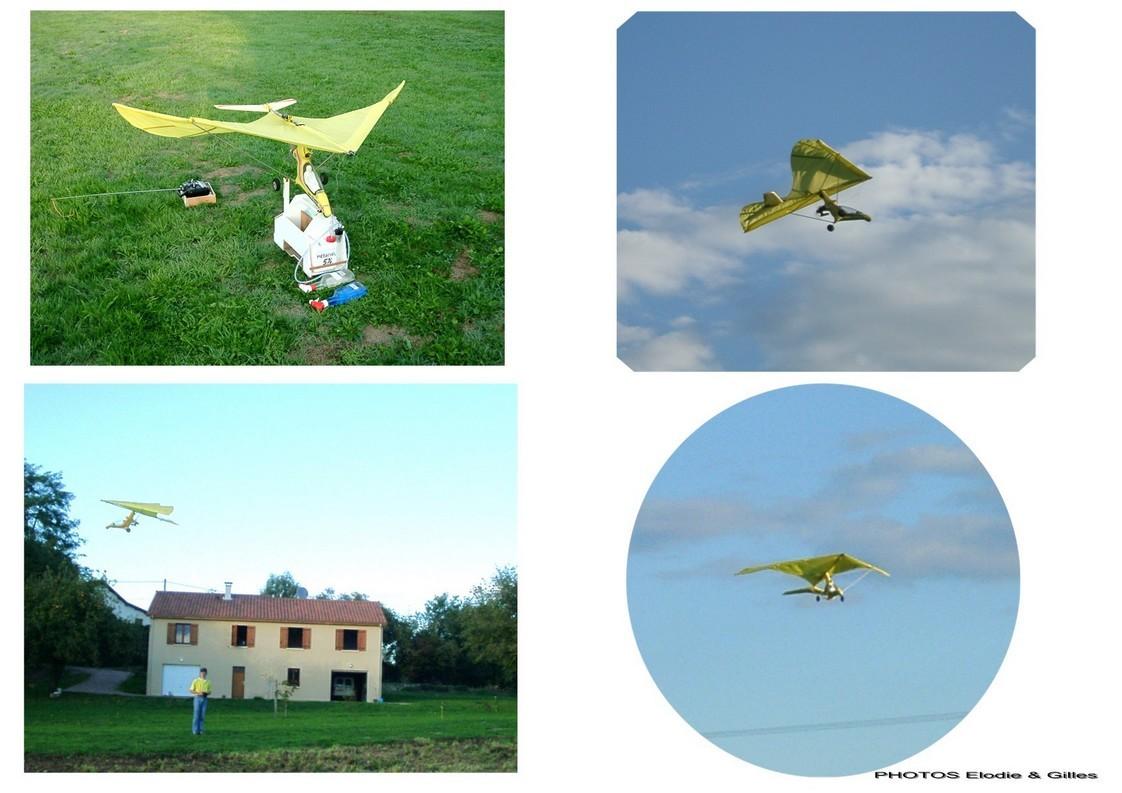 ULM skyflex V modifié